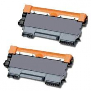 Brother TN-2320 Toner kompatibel black Doppelpack