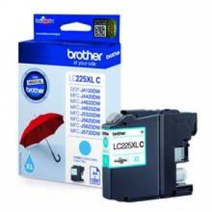 Original Brother LC-225XLC Tintenpatrone cyan XL