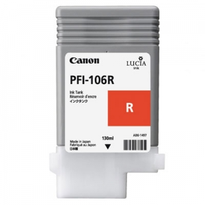 Original Canon PFI-106R Druckerpatrone 6627B001 red
