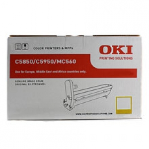 Original OKI 43870021 Bildtrommel yellow