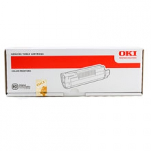 Original OKI 46443101 Toner yellow XL