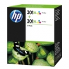 HP D8J46AE / 301XL Druckerpatronen Doppelpack Original color