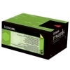 Toner Lexmark 71B2HY0 Original yellow XL