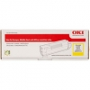 Original OKI 45862837 Toner yellow