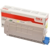 Original OKI 46507613 Toner yellow
